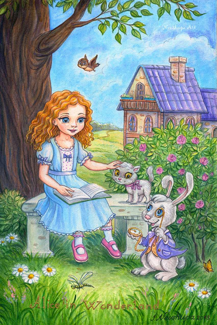 "Irina Nevshupa. ""Alice au pays des merveilles"" - photo 1"