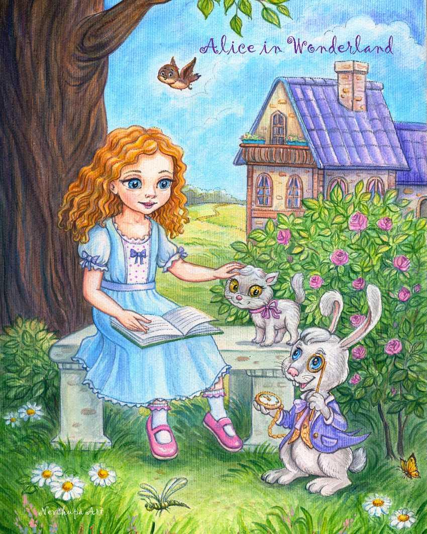 "Irina Nevshupa. ""Alice au pays des merveilles"" - photo 2"