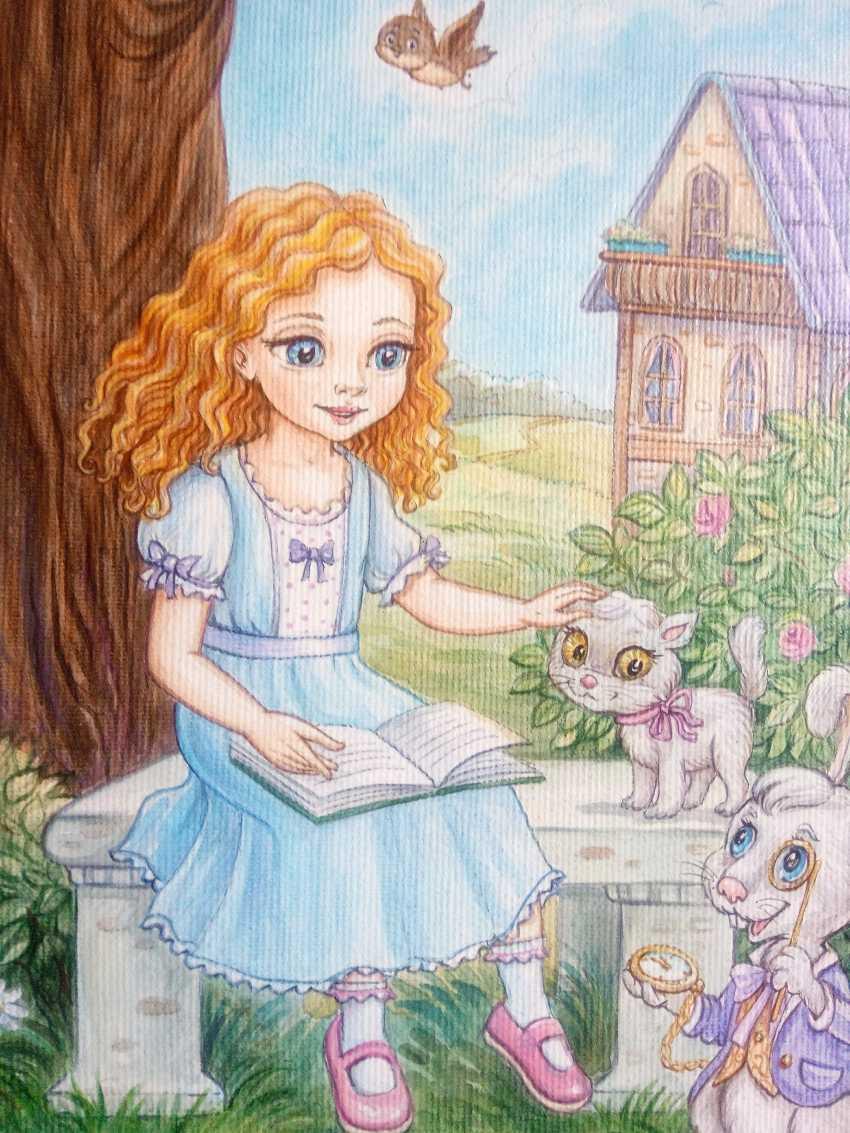 "Irina Nevshupa. ""Alice au pays des merveilles"" - photo 4"