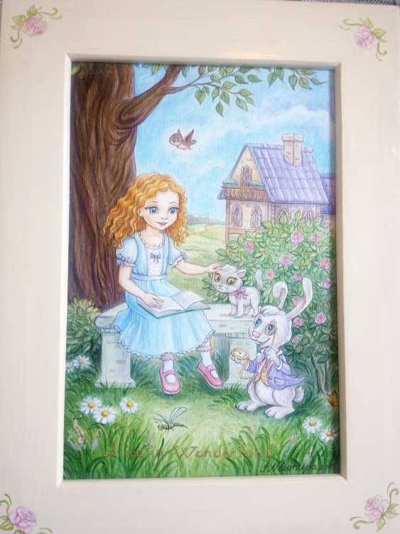"Irina Nevshupa. ""Alice au pays des merveilles"" - photo 5"