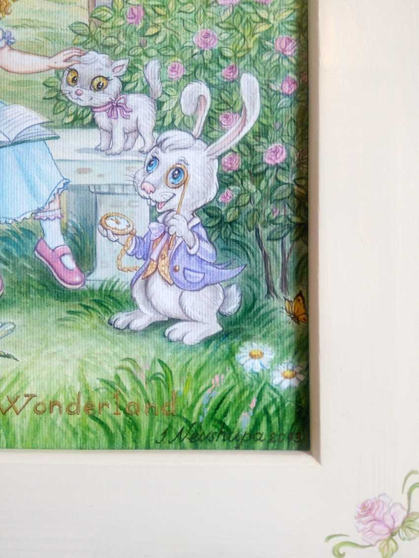 "Irina Nevshupa. ""Alice au pays des merveilles"" - photo 6"