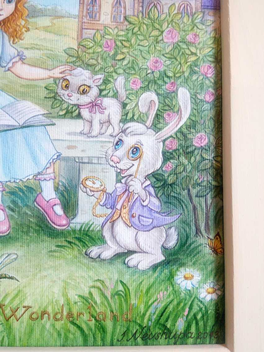 "Irina Nevshupa. ""Alice au pays des merveilles"" - photo 7"