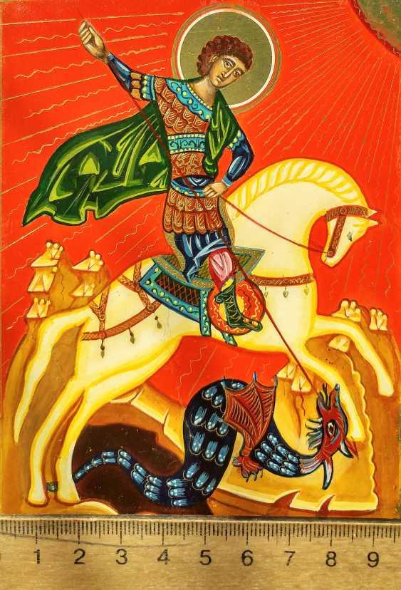 Irina Vygovskaya. Icon George George on horseback - photo 2