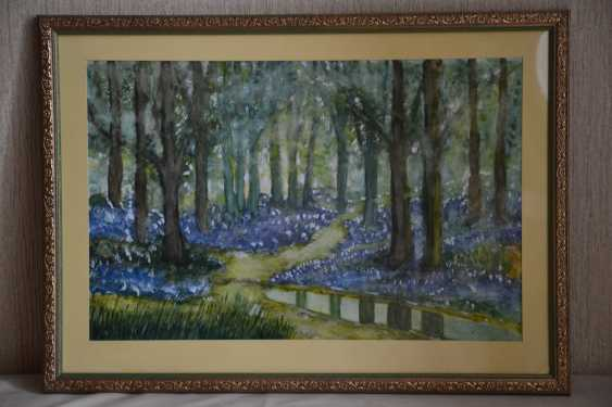 Olga Gorshkova. The bluebells in the woods - photo 1