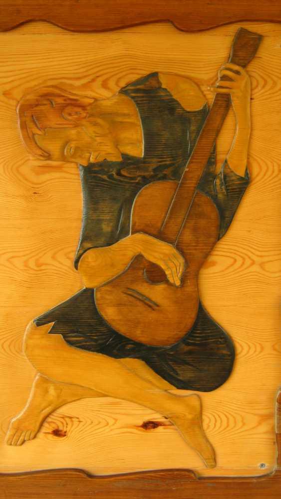 Ilqar Mecidov. Old guitarist - photo 1