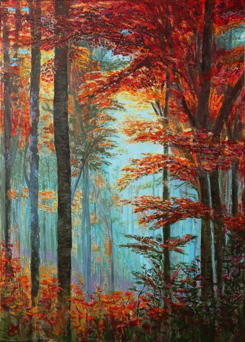 DMYTRO YEROMENKO. Autumn forest - photo 1