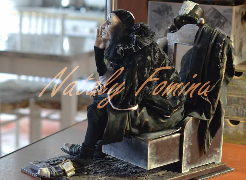 "Nataly Fomina. ""Alas, poor Yorick! I knew him, Horatio........."" - photo 1"