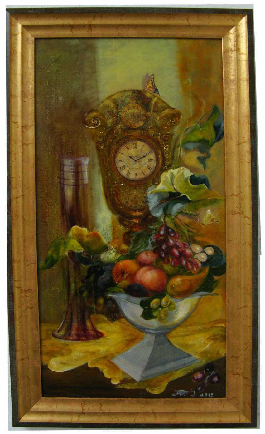 Iryna Ternavska. Still life with clock - photo 1