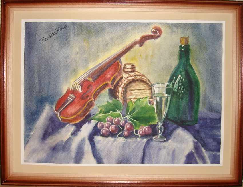 Julia Koliada. Nature morte au violon - photo 2