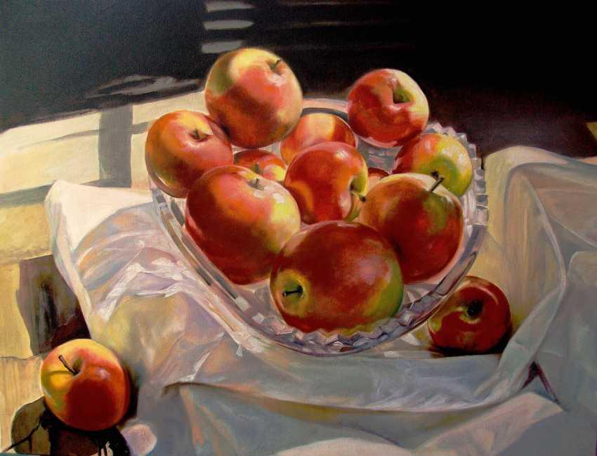 Andrew Khalturin. Яблоки на снегу. - photo 1