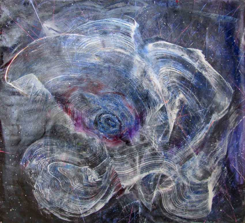 Matkovsky Dmitri. Раскрытие женской галактики, Оригинал Абстракция - Female Galaxy Opening, Original painting - photo 1