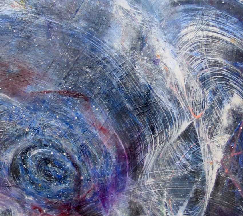 Matkovsky Dmitri. Раскрытие женской галактики, Оригинал Абстракция - Female Galaxy Opening, Original painting - photo 3