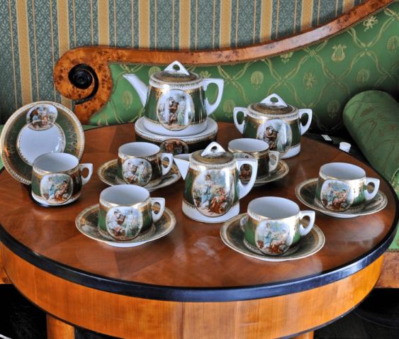 Сервиз чайный.Росиия, частный завод - фото 1