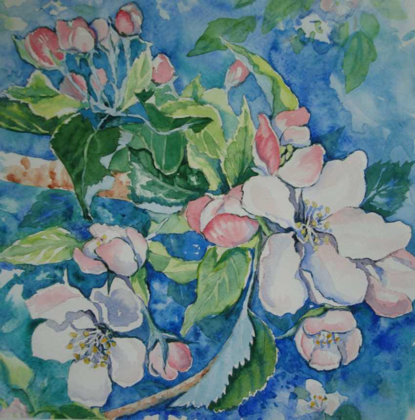Julia Koliada. Apple blossoms - photo 1