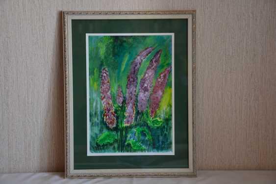 Olga Gorshkova. Полевые цветы Люпины - photo 1