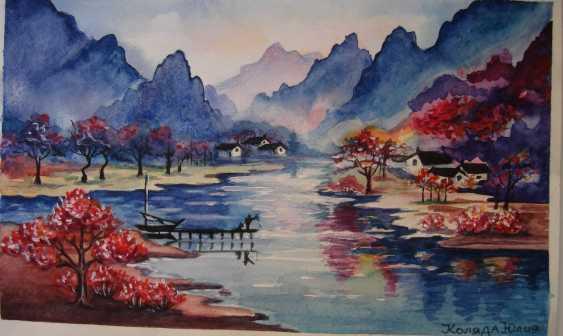 Юлия Коляда. Осень в горах - фото 1