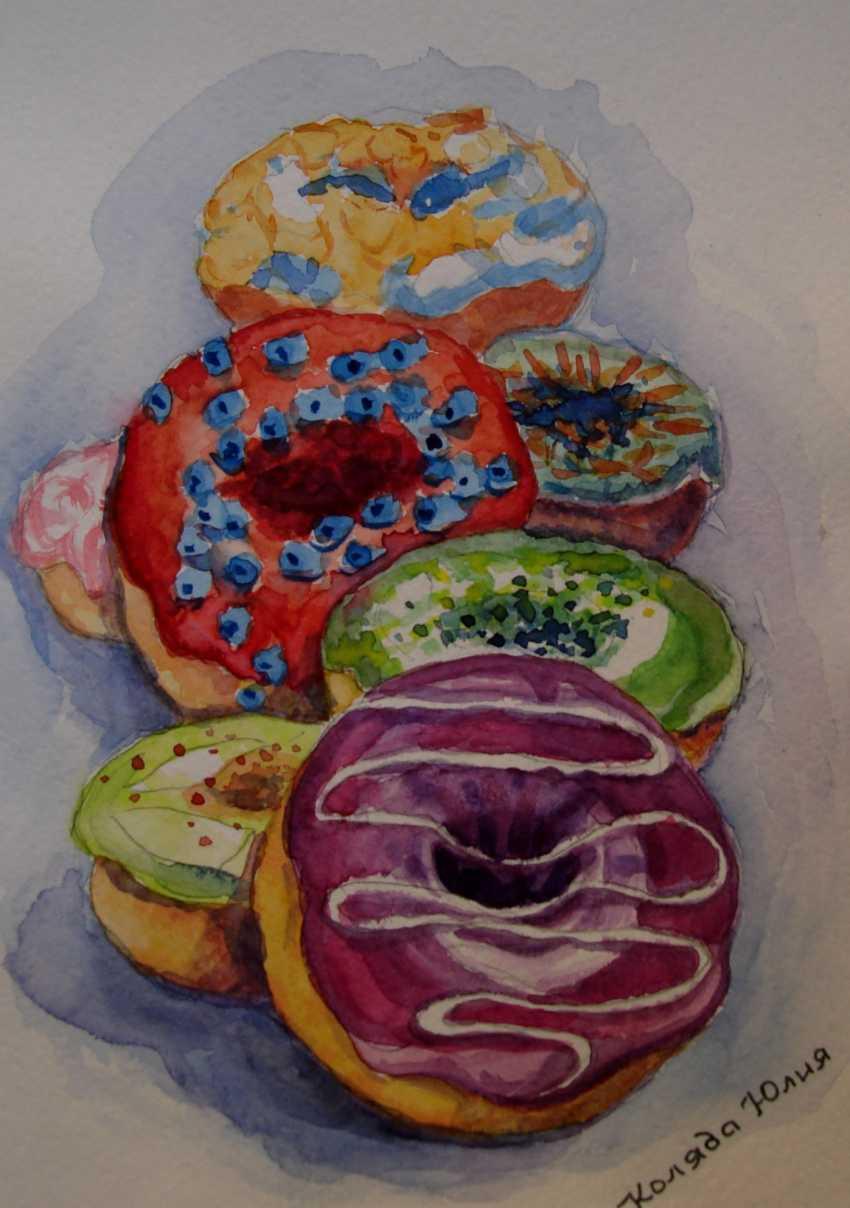 Julia Koliada. Sweet donuts - photo 1