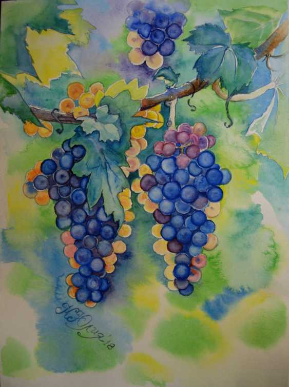 Julia Koliada. Bunches of grapes - photo 1