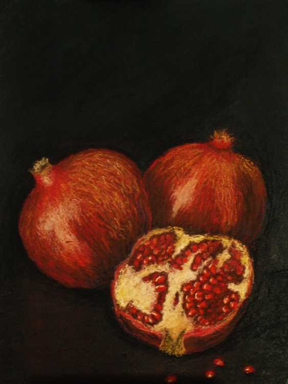 nino gudadze. Pomegranates - photo 1