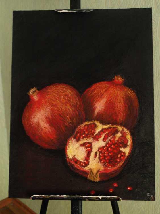 nino gudadze. Pomegranates - photo 2