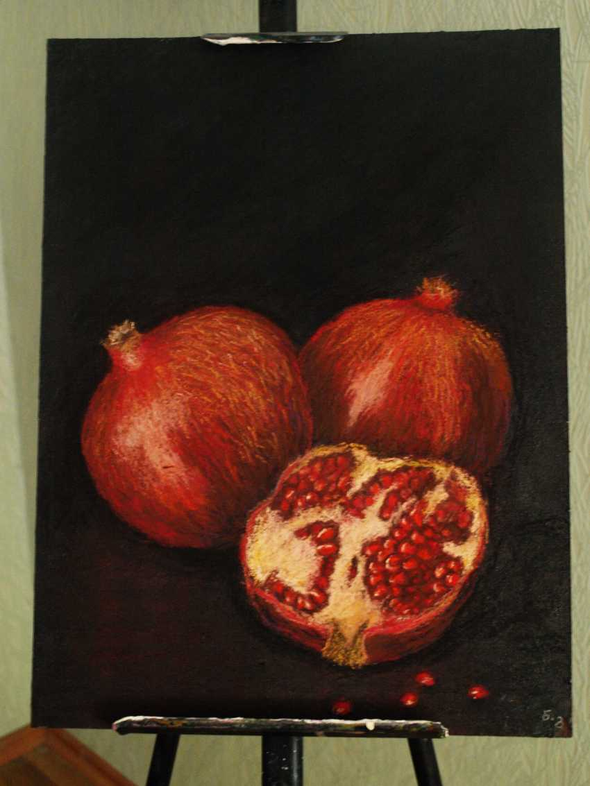 nino gudadze. Pomegranates - photo 2