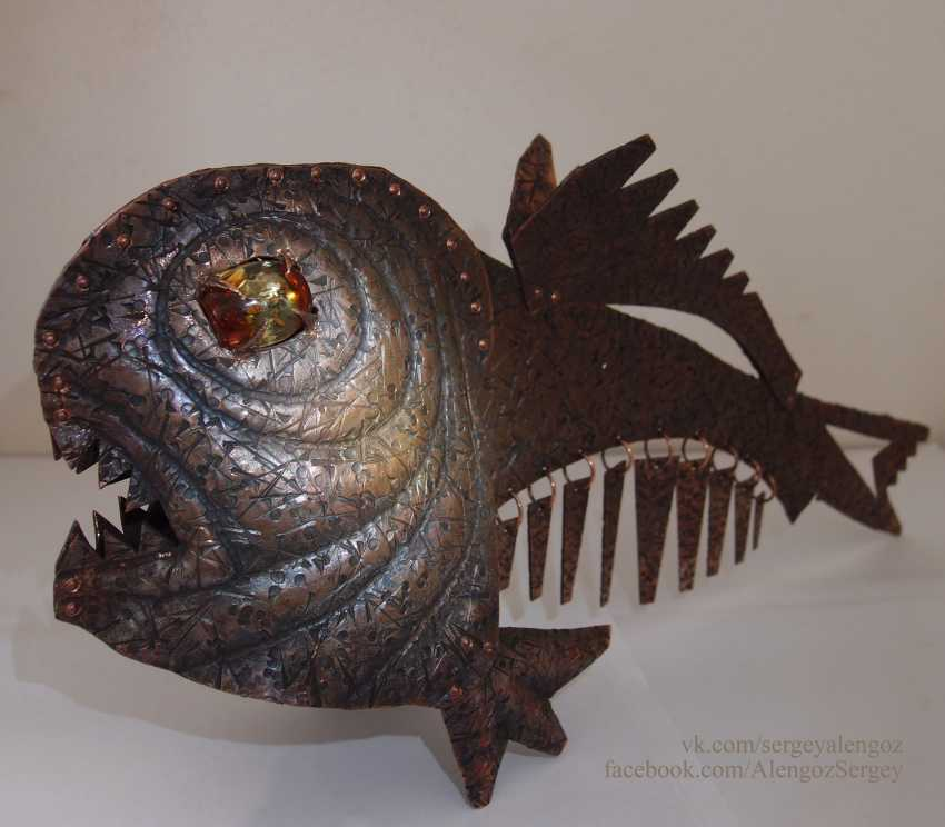 Sergey Alengoz. A very scary fish - photo 3