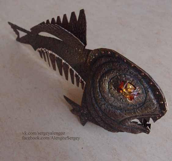 Sergey Alengoz. A very scary fish - photo 6