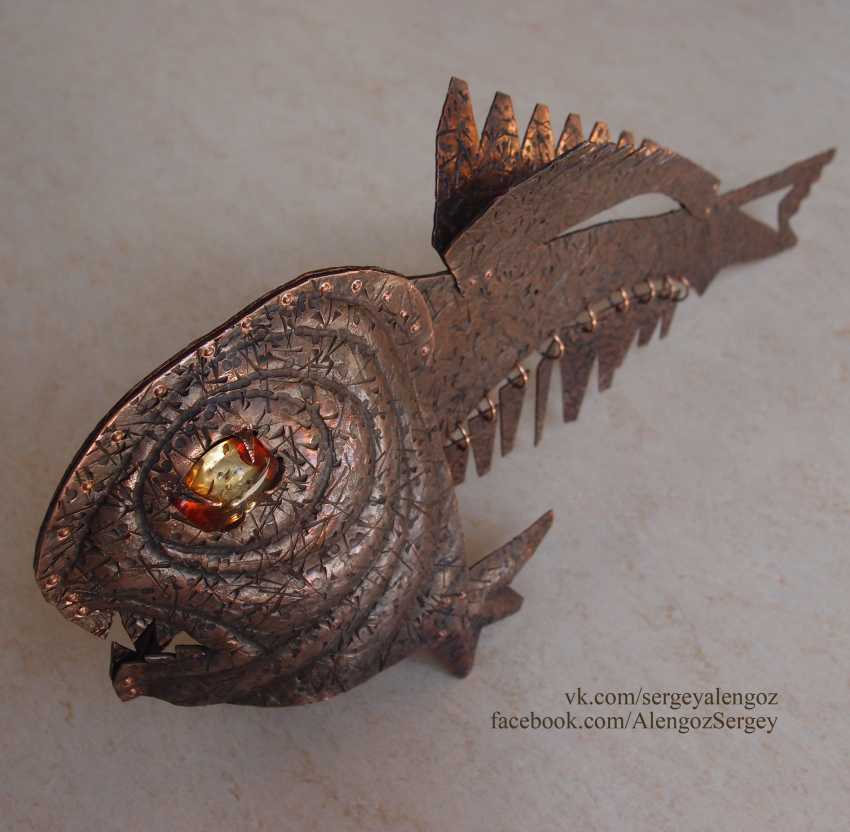Sergey Alengoz. A very scary fish - photo 7