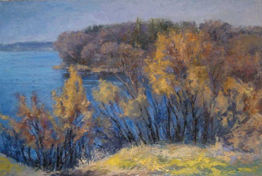 Aleksey Mundt. Over the lake autumn. - photo 1