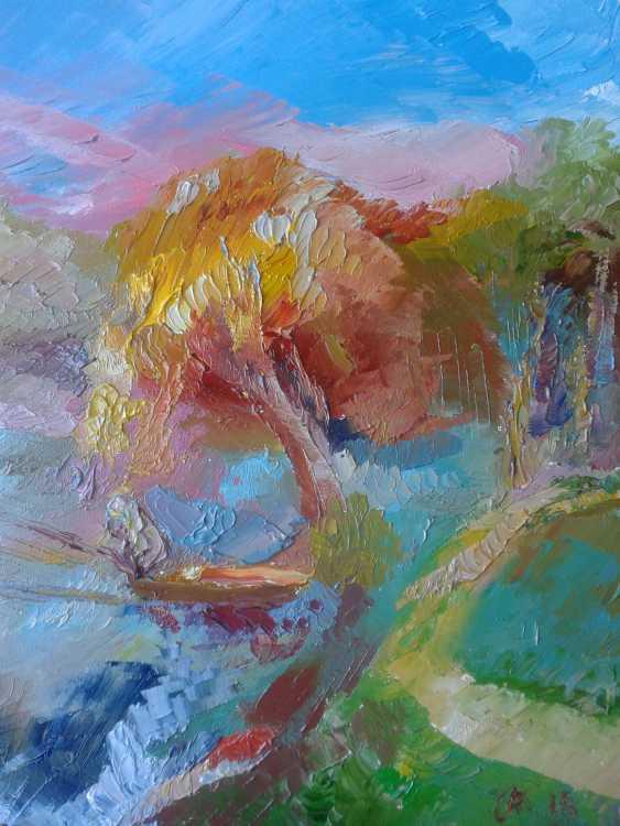 Andrei Kosharnii. Le lac à l'automne. Sur la pêche. - photo 1