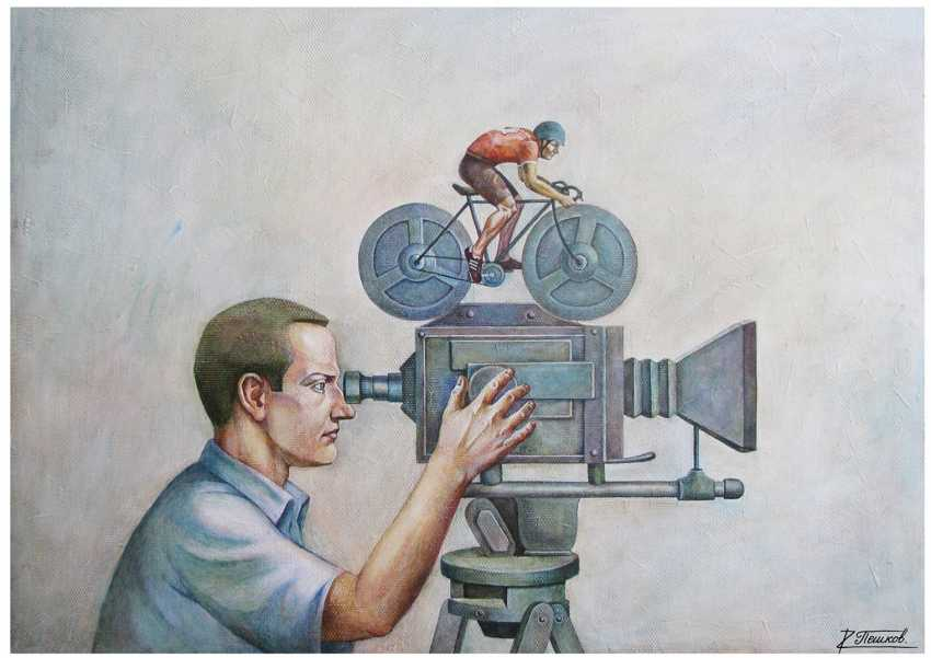 Роман Пешков. Кино и спорт - фото 1