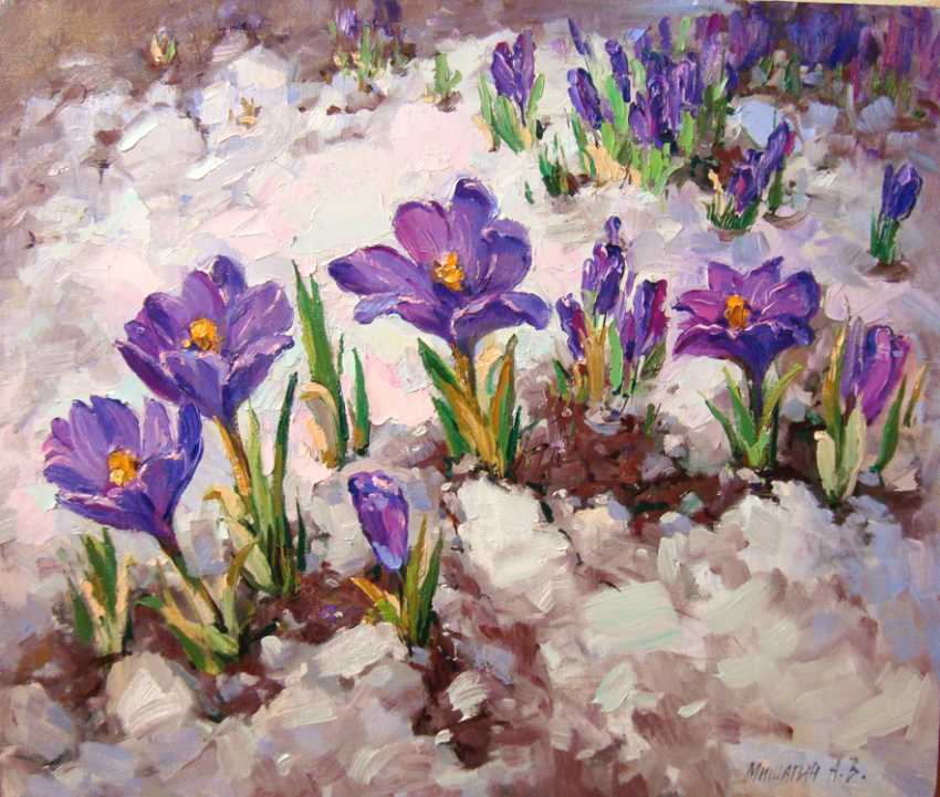 Andrey Mishagin. Messengers of spring - photo 1