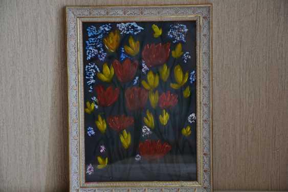 Olga Gorshkova. Tulips in the night - photo 1