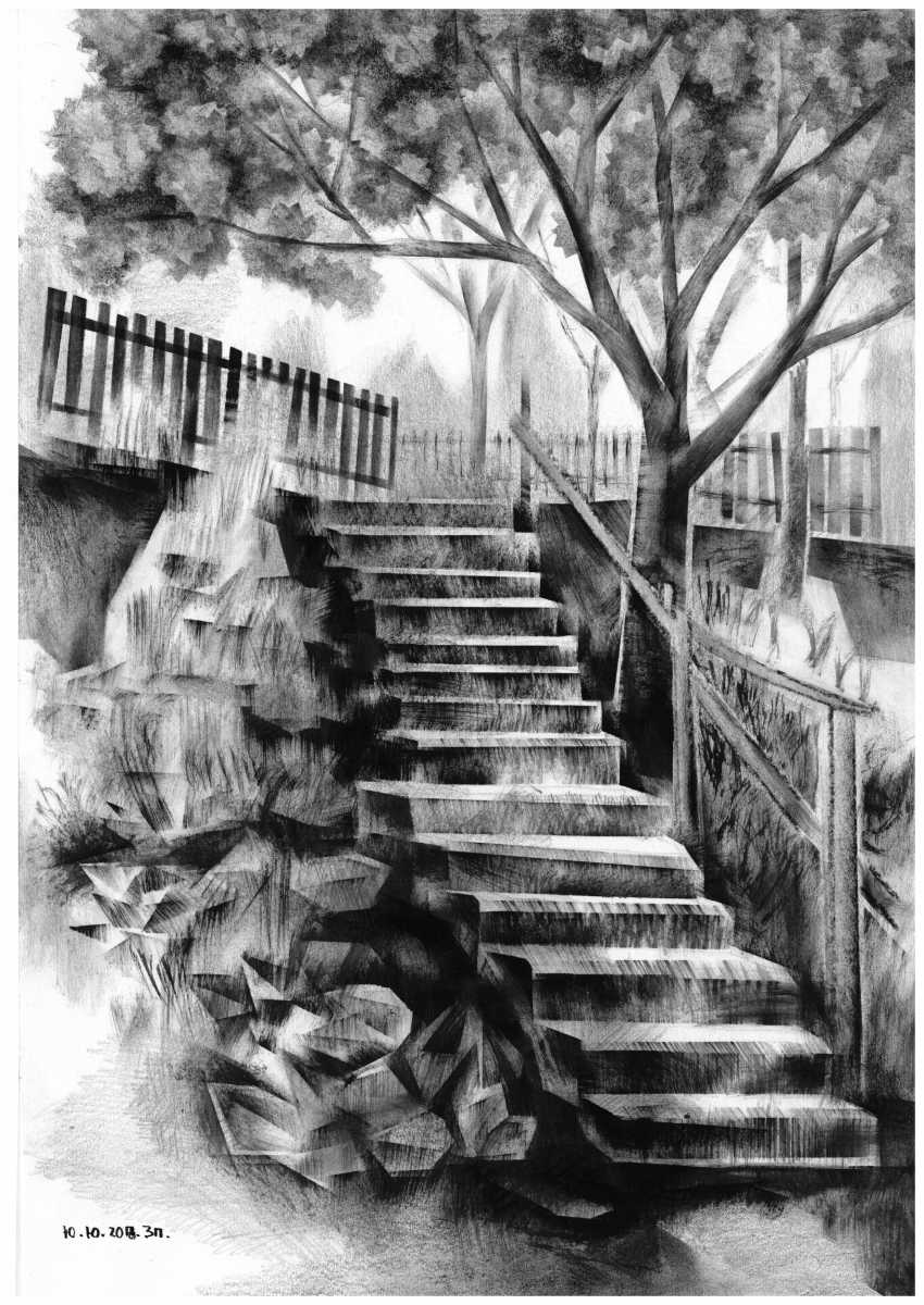 "Yuri Kalashnikov. In a series of ""Stairs"" - photo 1"