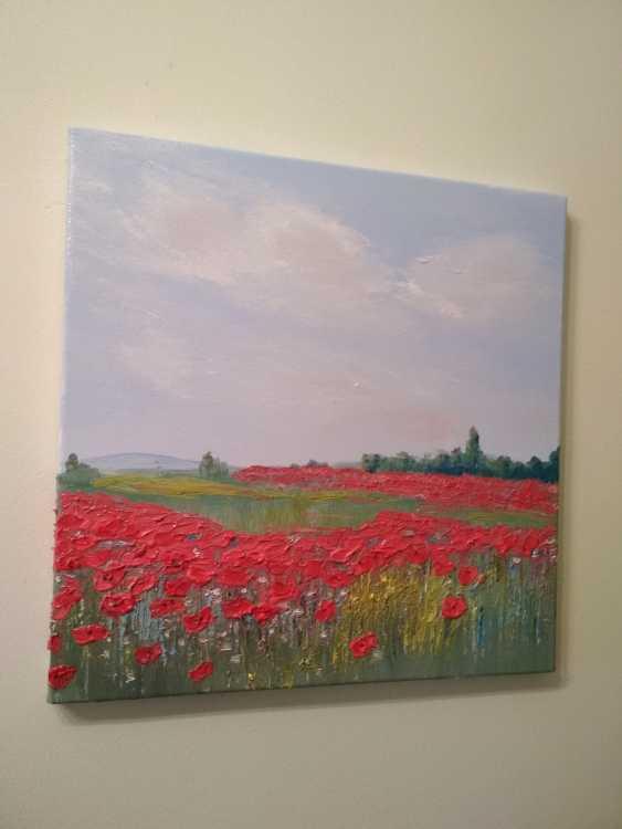 """Olha Vakulenko. """"Poppy fields"""" - photo 1"""