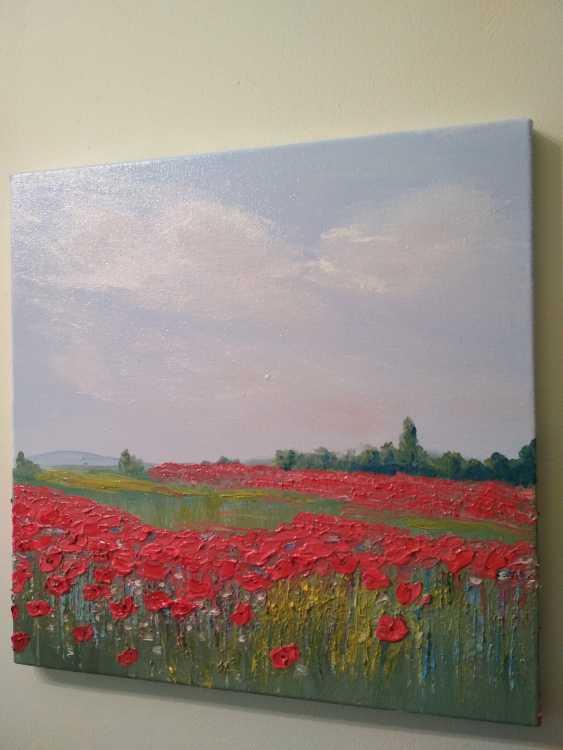 """Olha Vakulenko. """"Poppy fields"""" - photo 2"""