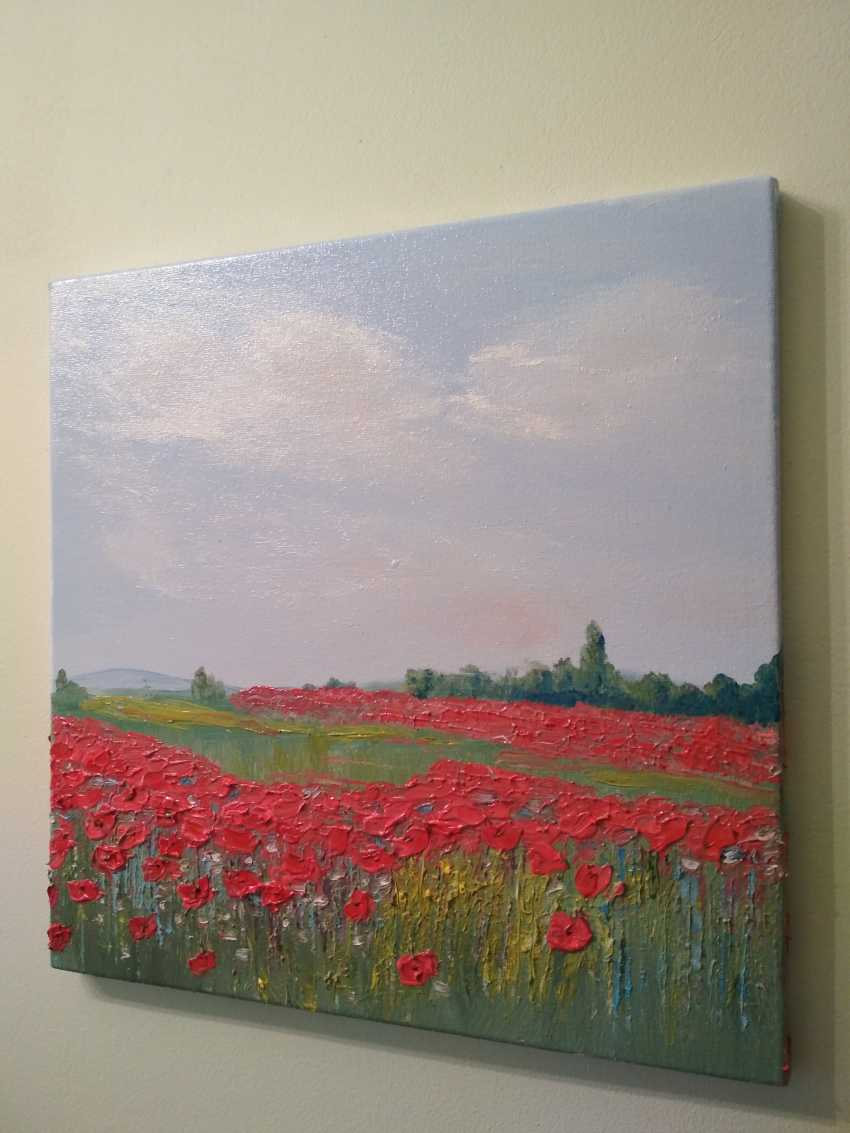 """Olha Vakulenko. """"Poppy fields"""" - photo 3"""