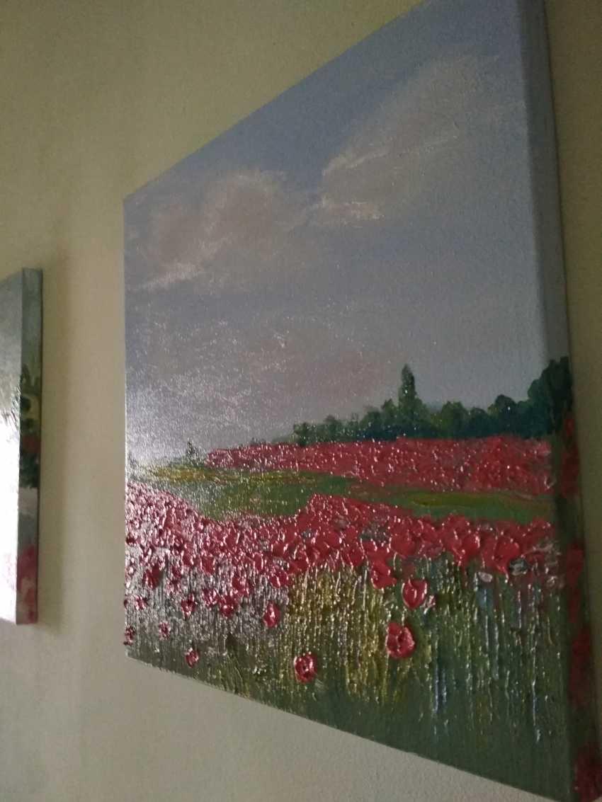 """Olha Vakulenko. """"Poppy fields"""" - photo 4"""