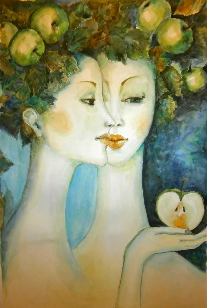Tatyana Chuprina. Girl with apples - photo 1