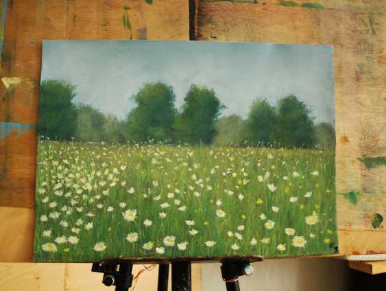 nino gudadze. Soft Pastel Painting. Pastel Landscape painting - photo 3