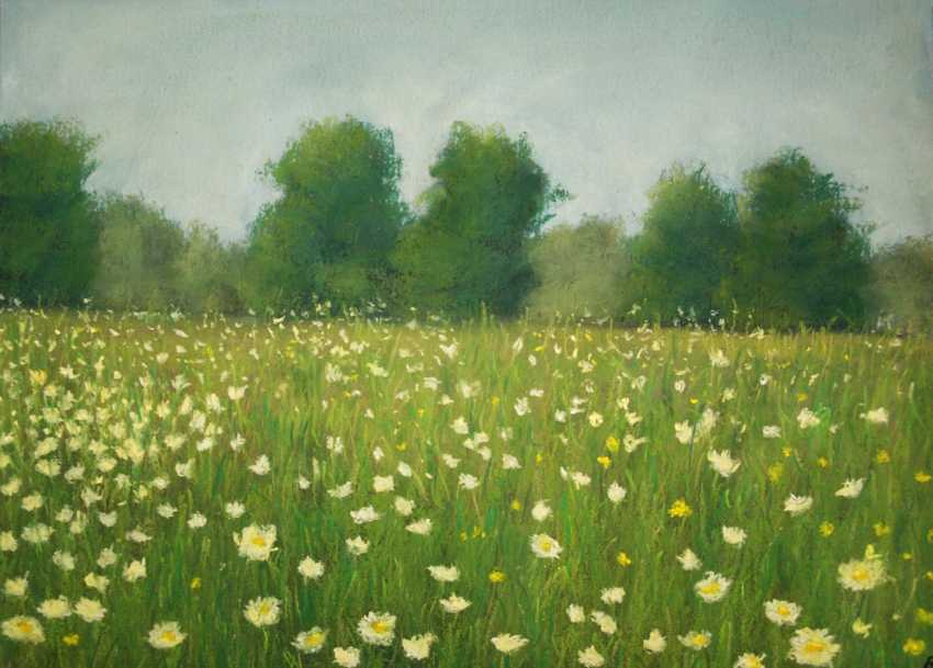 nino gudadze. Soft Pastel Painting. Pastel Landscape painting - photo 1