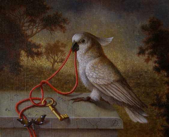 "Irina Dobrovetska. ""Parrot,key,butterfly."" - photo 1"