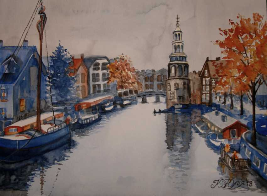 Julia Koliada. Autumn in Amsterdam - photo 1