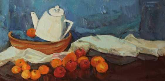 Leonenko Yevhen. Kettle and oranges - photo 1