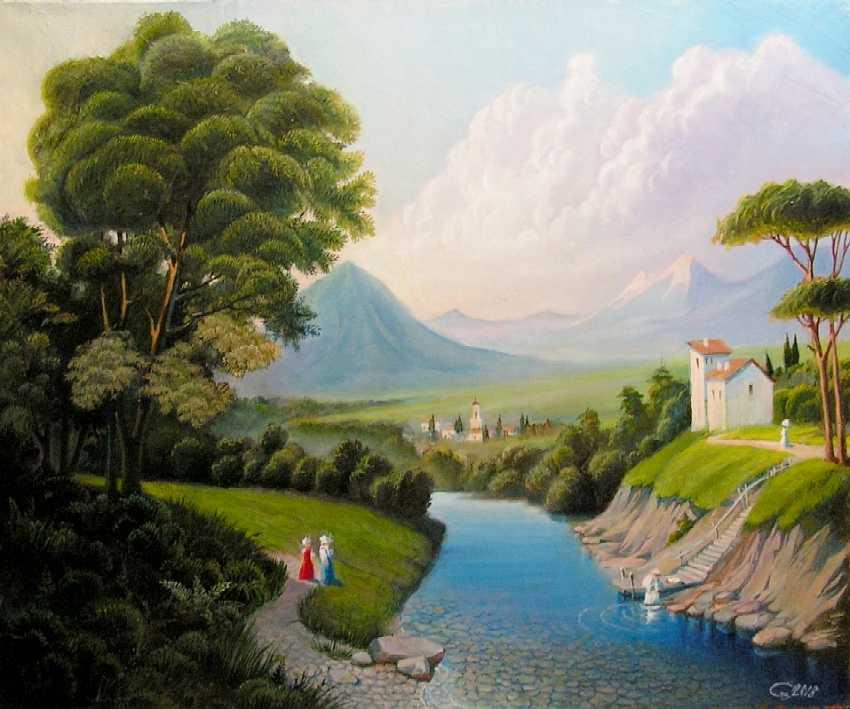 VIKTOR SAVIN. Landscape - photo 1