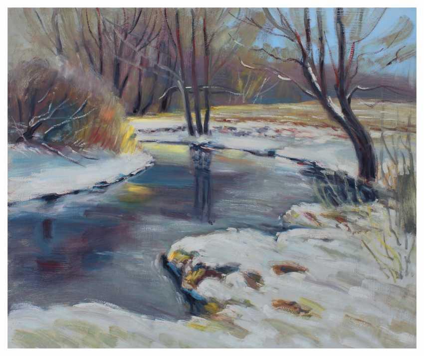 Andrey Lychkovsky. Winter landscape - photo 1