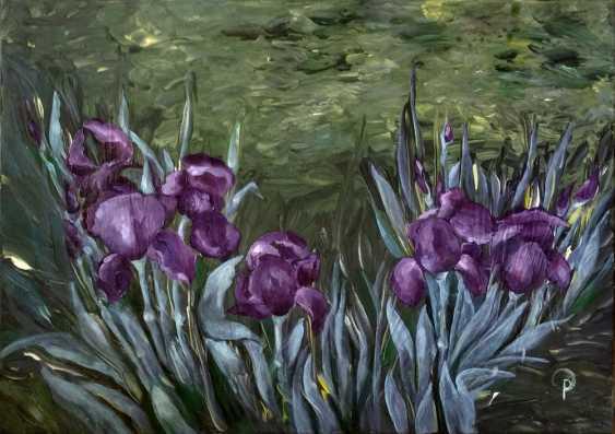 Olha Rabodzei. Irises - photo 1