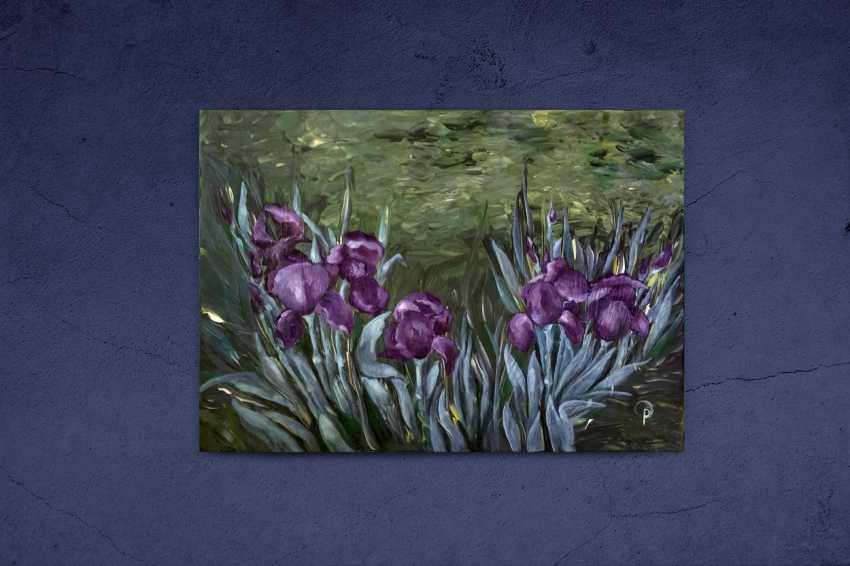 Olha Rabodzei. Irises - photo 3