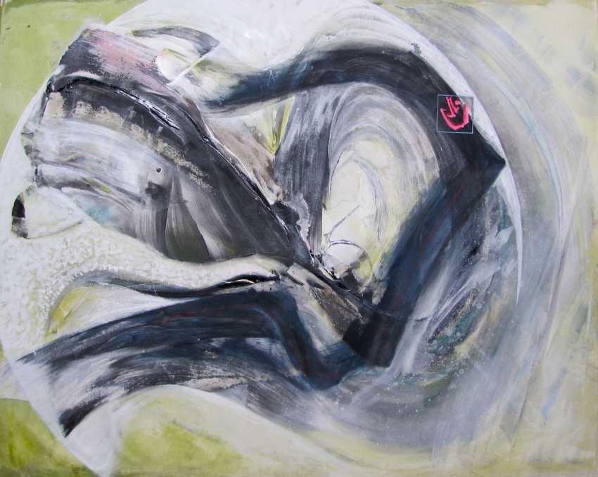 Matkovsky Dmitri. Leap into the dragon's mouth - Into the Dragon's Mouth, Original painting - photo 1