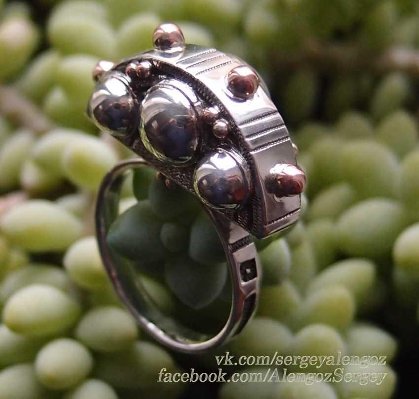 "Sergey Alengoz. Ring ""Crescent"" - photo 1"